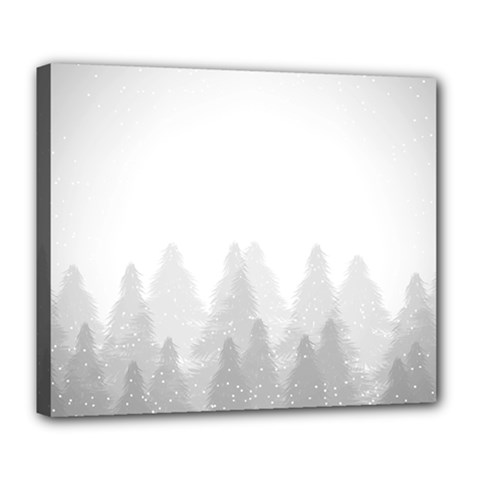 Winter Land Light Deluxe Canvas 24  X 20