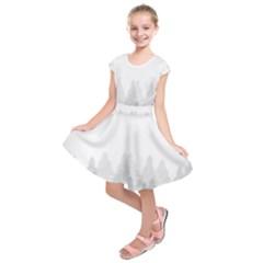 Winter Land Light Kids  Short Sleeve Dress