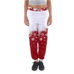Xmas Snow 01 Women s Jogger Sweatpants