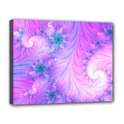 Delicate Canvas 14  X 11