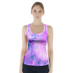 Delicate Racer Back Sports Top