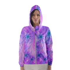 Delicate Hooded Wind Breaker (women)