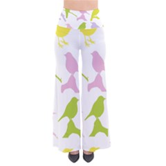 Birds Colourful Background Pants