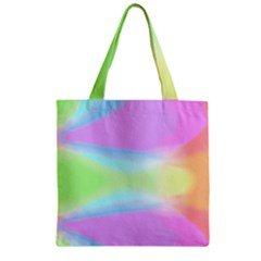 Abstract Background Wallpaper Paper Zipper Grocery Tote Bag