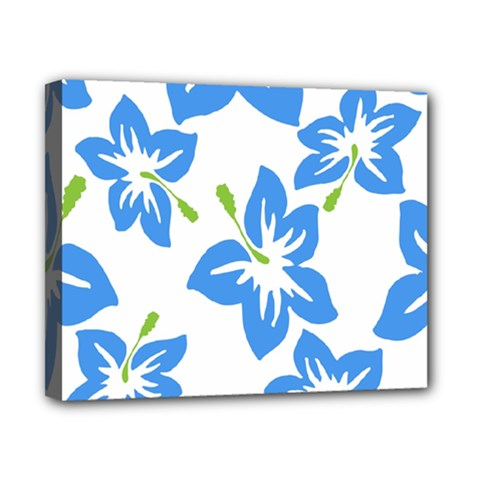 Hibiscus Wallpaper Flowers Floral Canvas 10  X 8