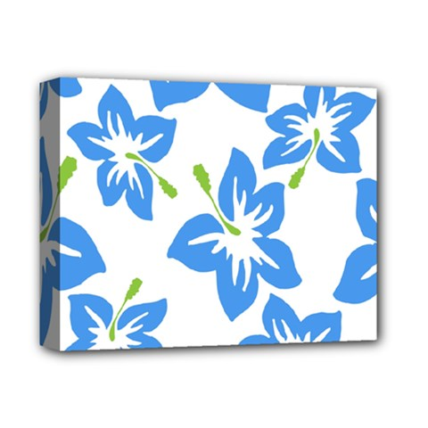 Hibiscus Wallpaper Flowers Floral Deluxe Canvas 14  X 11