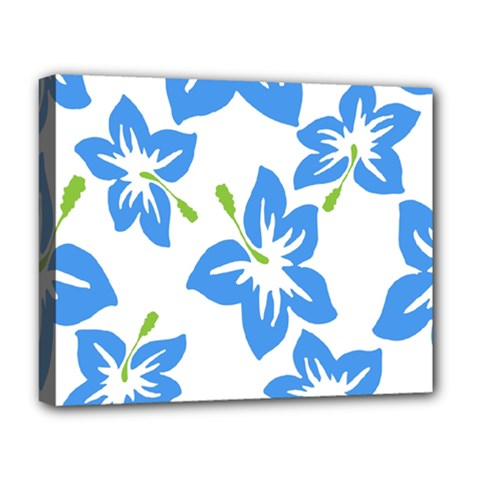 Hibiscus Wallpaper Flowers Floral Deluxe Canvas 20  X 16