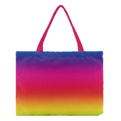 Spectrum Background Rainbow Color Medium Tote Bag