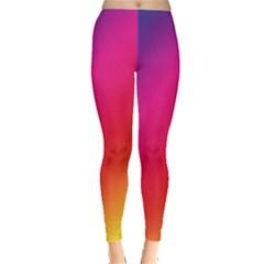 Spectrum Background Rainbow Color Leggings
