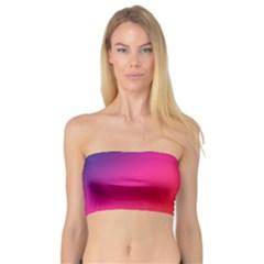 Spectrum Background Rainbow Color Bandeau Top
