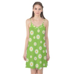 Daisy Flowers Floral Wallpaper Camis Nightgown