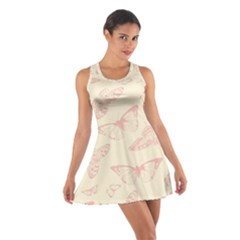 Butterfly Butterflies Vintage Cotton Racerback Dress