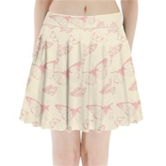 Butterfly Butterflies Vintage Pleated Mini Skirt