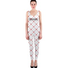 Hearts Pattern Love Design Onepiece Catsuit