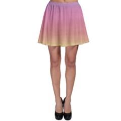 Background Watercolour Design Paint Skater Skirt