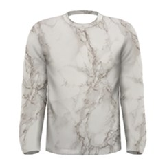 Marble Background Backdrop Men s Long Sleeve Tee