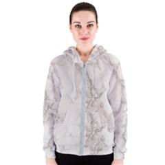 Marble Background Backdrop Women s Zipper Hoodie