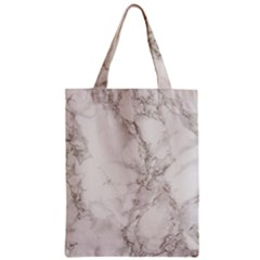 Marble Background Backdrop Zipper Classic Tote Bag