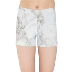 Marble Background Backdrop Kids Sports Shorts