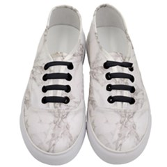 Marble Background Backdrop Women s Classic Low Top Sneakers
