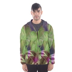 Arrangement Butterfly Aesthetics Hooded Wind Breaker (men)