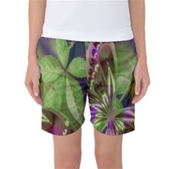 Arrangement Butterfly Aesthetics Women s Basketball Shorts