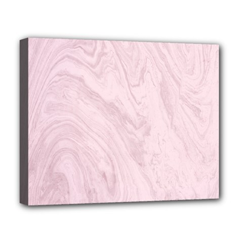 Marble Background Texture Pink Deluxe Canvas 20  X 16