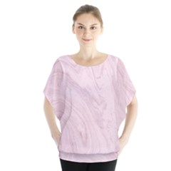 Marble Background Texture Pink Blouse