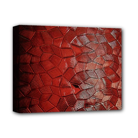 Pattern Backgrounds Abstract Red Deluxe Canvas 14  X 11