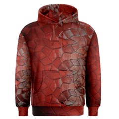 Pattern Backgrounds Abstract Red Men s Pullover Hoodie