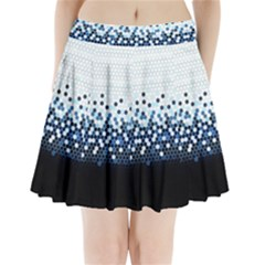Tech Camouflage Pleated Mini Skirt