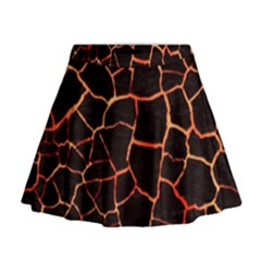 Magma Mini Flare Skirt