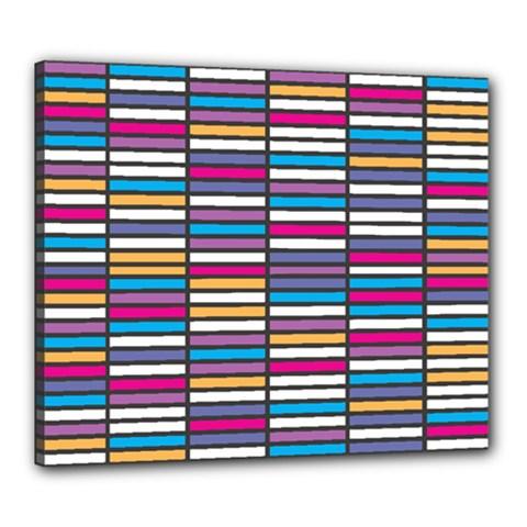 Color Grid 01 Canvas 24  X 20