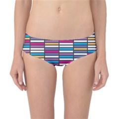 Color Grid 01 Classic Bikini Bottoms