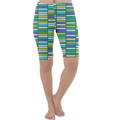Color Grid 03 Cropped Leggings