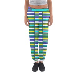 Color Grid 03 Women s Jogger Sweatpants