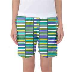 Color Grid 03 Women s Basketball Shorts