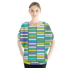 Color Grid 03 Blouse
