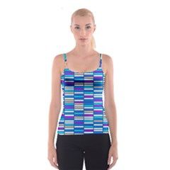 Color Grid 04 Spaghetti Strap Top