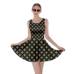 Yellow Cross Skater Dress