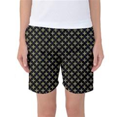 Yellow Cross Women s Basketball Shorts