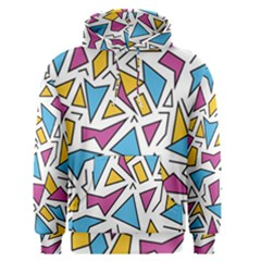 Retro Shapes 01 Men s Pullover Hoodie