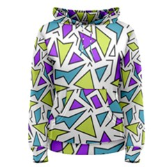 Retro Shapes 02 Women s Pullover Hoodie