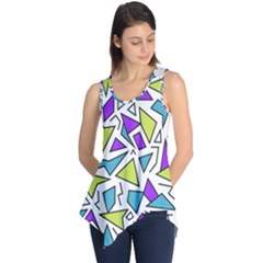 Retro Shapes 02 Sleeveless Tunic