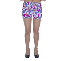 Retro Shapes 03 Skinny Shorts