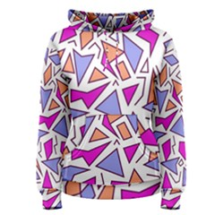 Retro Shapes 03 Women s Pullover Hoodie