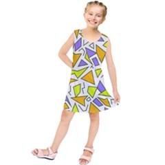 Retro Shapes 04 Kids  Tunic Dress