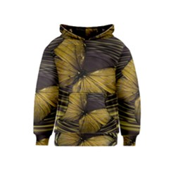Butterfly Insect Wave Concentric Kids  Pullover Hoodie