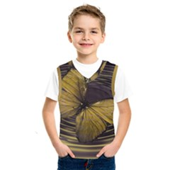 Butterfly Insect Wave Concentric Kids  Sportswear