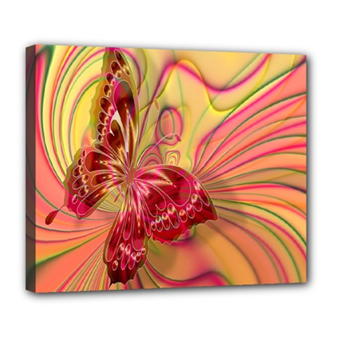 Arrangement Butterfly Aesthetics Deluxe Canvas 24  X 20